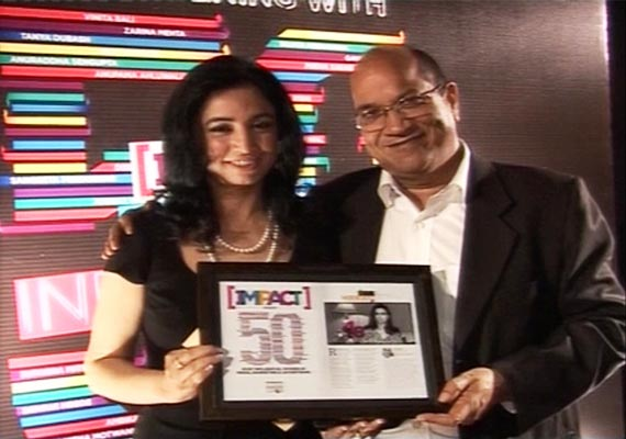 India TV CEO Ritu Dhawan Gets IMPACT Most Influential Woman Award