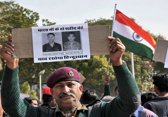 India demands punishment for Pak brutes who killed Indian jawans