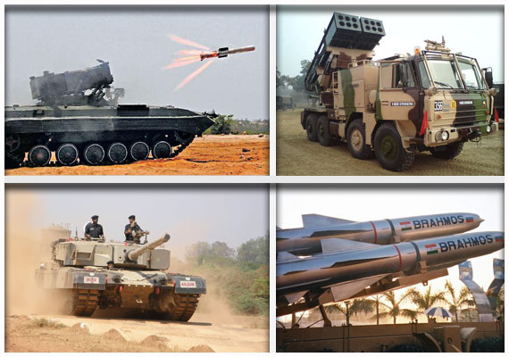 Indian Army's battle weapons