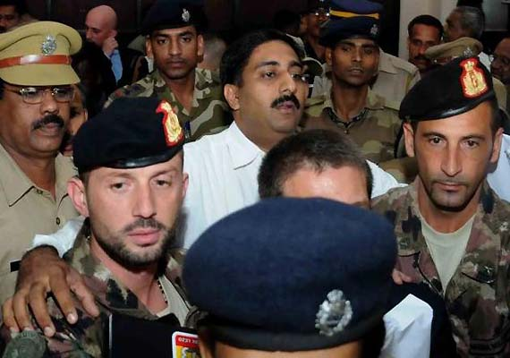 Special court to try Italian marines