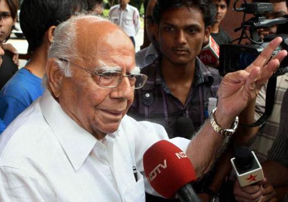 Jethmalani Demands Chidambaram's Resignation After Ramlila Verdict