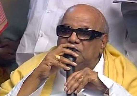 Karunanidhi opposes service tax on rice