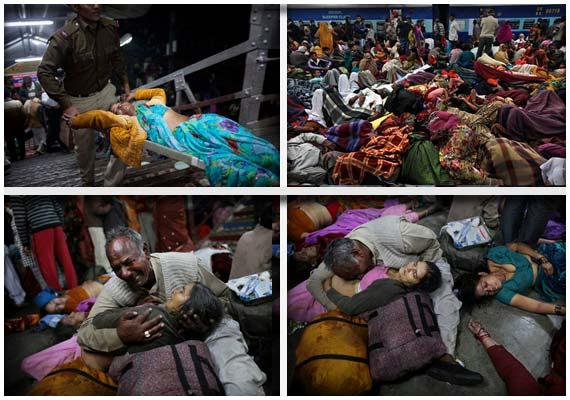 Allahabad stampede toll 36; Both UP govt, railways order probes, ex-gratia hiked