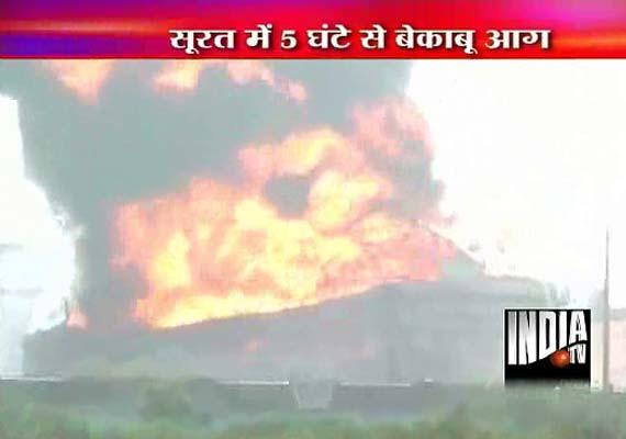 Major fire at Indian Oil's Hazira terminal