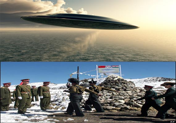 Mysterious UFO sighted in Ladakh on India-China border by army