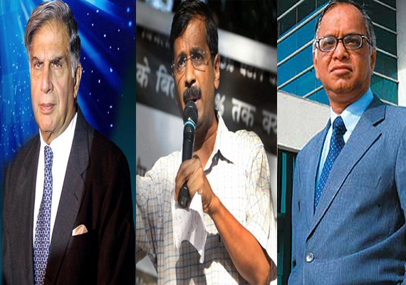 Narayana Murthy tops list of India Inc  donors for Kejriwal's  trust
