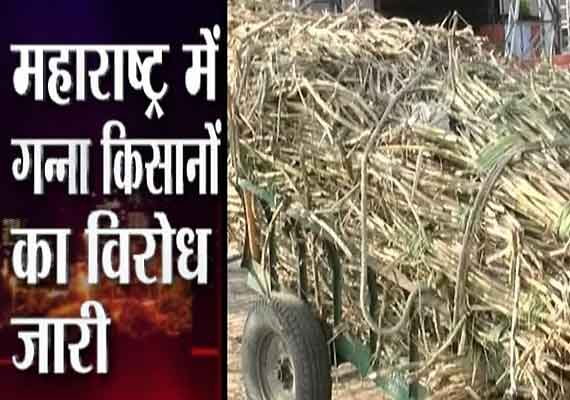 One killed in firing, 20 buses attacked, roadblocks as sugarcane farmers in Maharashtra go on the rampage