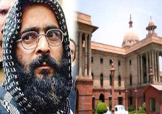 Parliament attack plotter Afzal Guru executed