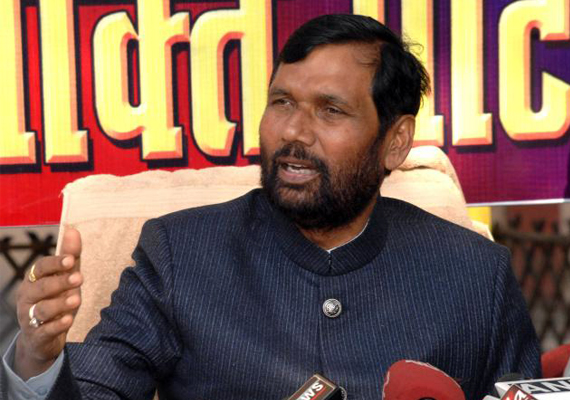 Paswan Questions Congress Silence Over Corruption In Bihar