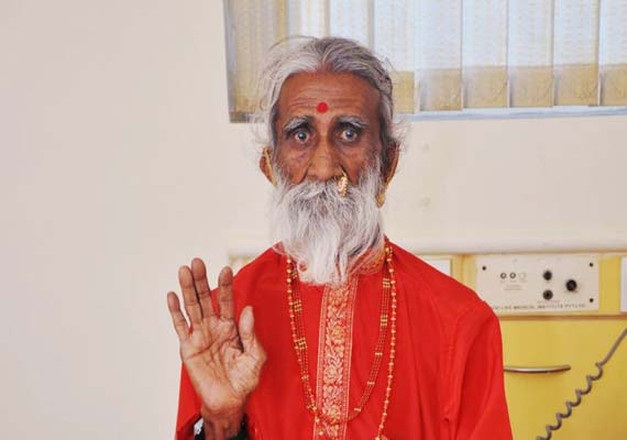 Prahlad Jani, the sadhu who has lived without food or water for 72 years