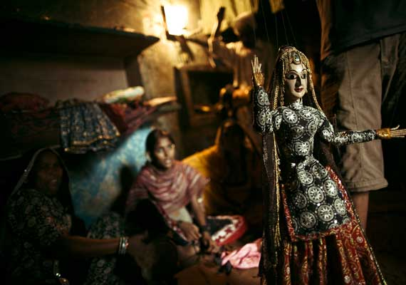 Kathputli Colony, the world's largest settlement of street performers