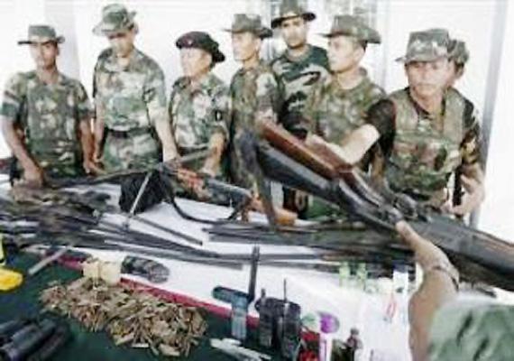 Seven militants surrender in Manipur