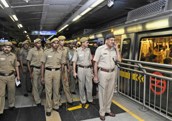 Seven Metro stations in Delhi closed