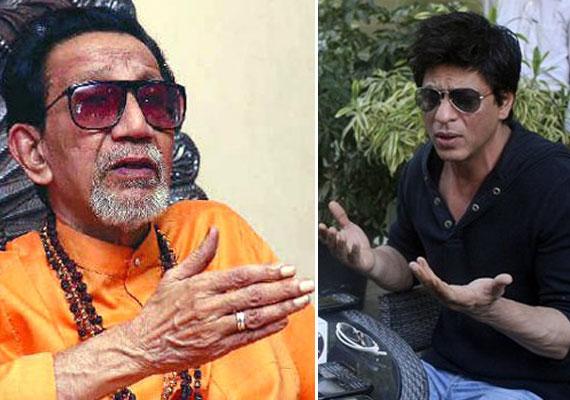 Shah Rukh has Congress's protection, says  Bal Thackeray