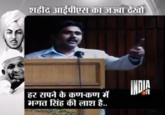 Slain IPS Officer Narendra Kumar's Patriotic Poems A Hit On YouTube
