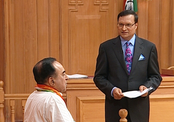 Swamy Tells Adalat, Rahul Is Ineligible To Become PM
