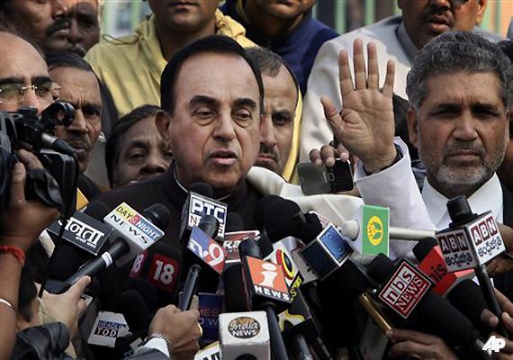 Swamy To Move Supreme Court Against Chidambaram