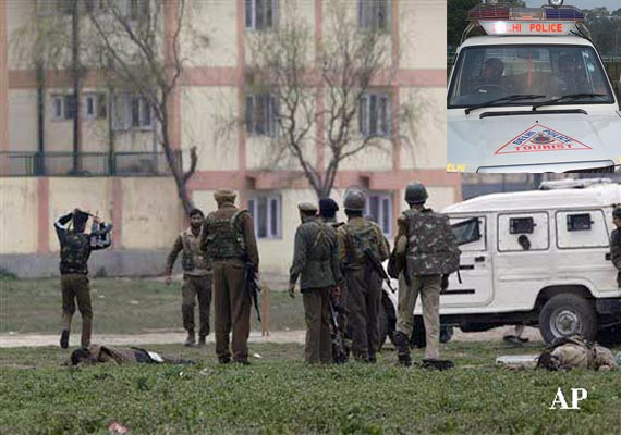 Terror plan in Delhi foiled: Kupwara man held from Gorakhpur, AK56, grenades, explosive seized from Jama Masjid hotel