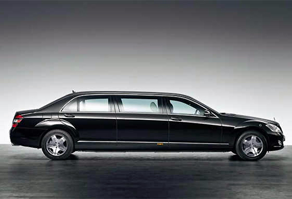The Indian President's gorgeous cars
