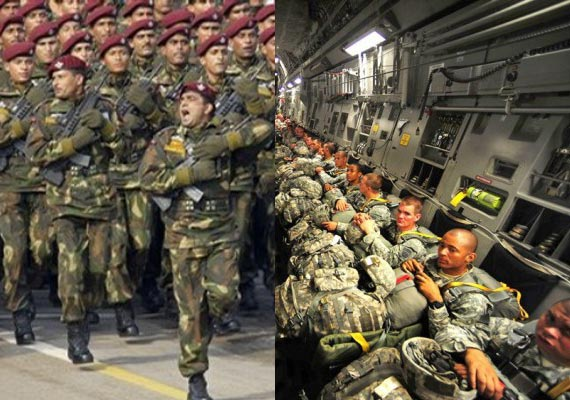 World's top 10 largest armies, Indian army at No 3