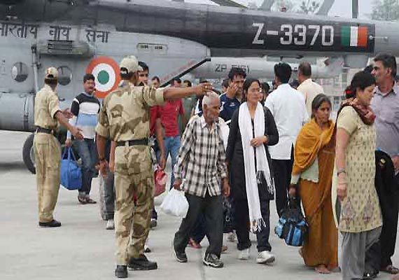 Uttarakhand: 134 stranded tourists flown to Gujarat by chartered flight
