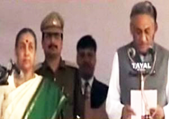 Vijay Bahuguna Sworn In As Uttarakhand CM Amid Revolt In Congress