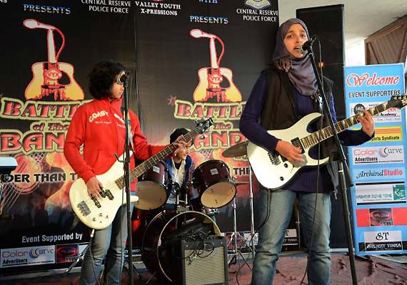 Kashmir's all-girl rock band member says, they disbanded because of people of the valley