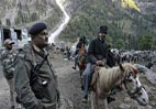 Amarnath Yatra under 'terror' threat; paramilitary forces deployed