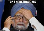 Coal secretary hid facts from Manmohan Singh; Know top 5 news headlines of today