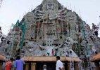 Kolkata Police bars entry into park hosting tallest Durga idol
