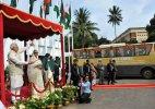 New bus service via Dhaka makes people of Tripura, Bengal gung-ho