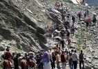 Amarnath Yatra: Third batch begins journey
