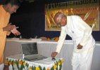 Police heckles noted historian Chidananda Murthy in presence of CM Siddaramaiah