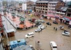 Floods declared in J&K, 8 people killed in house collapse, 16 feared trapped