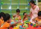 Children under six should have right to creche: law panel