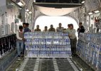 India sends 'Rail Neer' water to earthquake-hit Nepal