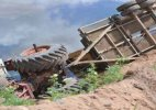 Four killed, 10 hurt after tractor-trolley overturns