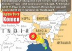 Cyclone Komen hits Bangladesh coast; heavy rains in Bengal, Odisha