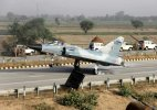 IAF fighter jet lands at Yamuna Expressway ahead of PM Modi's Mathura visit