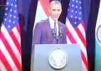 Live: President Obama speaks at Siri Fort Auditorium