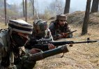 Militants fire rifle grenades towards security forces camp