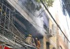 Fire breaks out in Delhi's Gandhinagar market