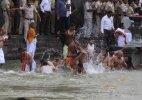 Kumbh Mela: Thousands take holy dip during first 'shahi snan'