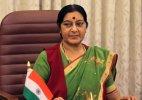 Sushma Swaraj on Lanka visit from tomorrow
