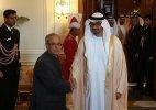 Abu Dhabi crown prince calls on president