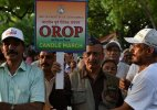OROP to be announced but differences persist