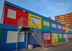 Container schools to impart job skills to students