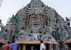 'Biggest' Durga idol vies for supremacy in West Bengal