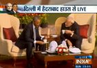 Live: Modi-Obama hold one-on-one 'chai pe charcha' at Hyderabad House, breakthrough on nuclear issue