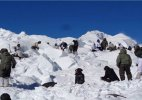 Siachen avalanche 150 soldiers, two canines and a rescue